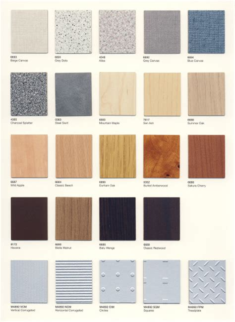 formica laminate color chart