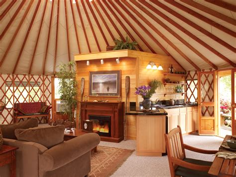 Log Cabin Floor Plans With Loft by Glamping With Pacific Yurts Business Wire