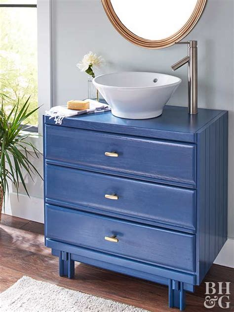 How To Turn An Old Dresser Into A Beautiful Bathroom Vanity Dresser Turned Bathroom Vanity