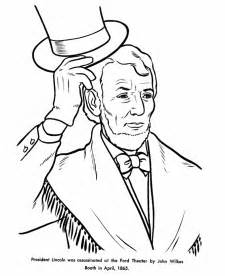 abraham lincoln coloring page abraham lincoln coloring pages coloring home