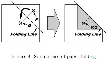 Paper Folding Problem - 3806 origami through