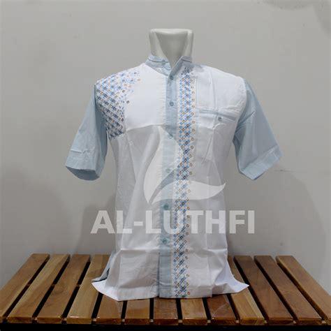 Baju Koko Al Luthfi Bm Al 26 baju koko al luthfi tangan pendek al 051 al luthfi