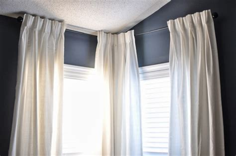 gardinenstange rundbogenfenster gardinen aufh 228 ngen ohne stange mydeko bistro stange