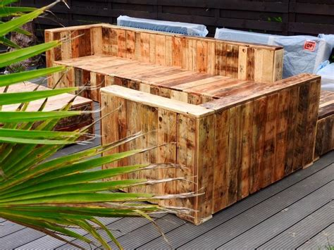 Beautiful Pallet Wood Patio Furniture Pallet Ideas Wooden Pallet Outdoor Furniture