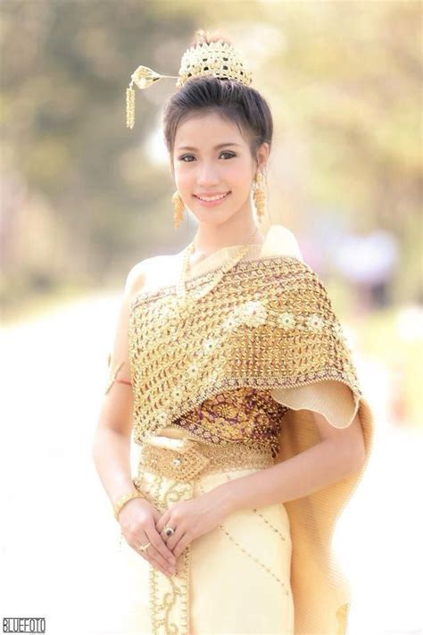 Dress Thaigirl 42 best charming and unique thai s costume images on thai dress thai