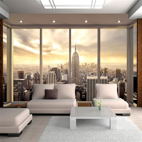 wohnzimmer new york style vlies fototapete tapeten wandbilder tapete new york