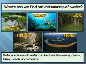 natural sources of water po by sheila melton teachers