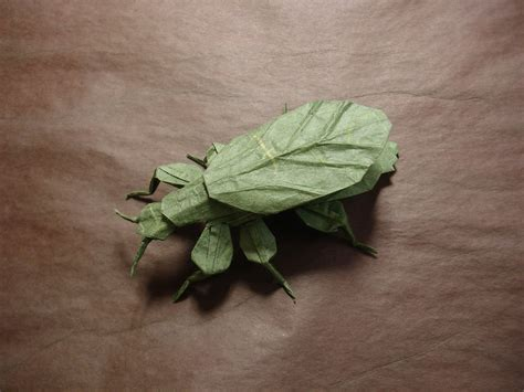 Origami Insect - i c ant believe how complex and realistic these origami