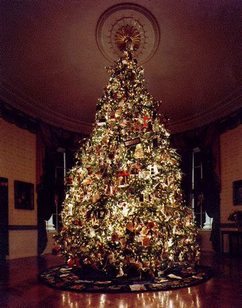 white house christmas trees special themes selected by