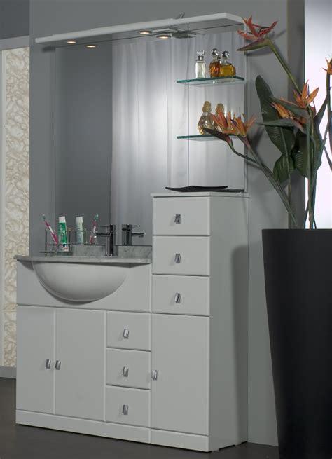 mobile da bagno economico arredo bagno cleo da 80 cm con lavabo sottopiano