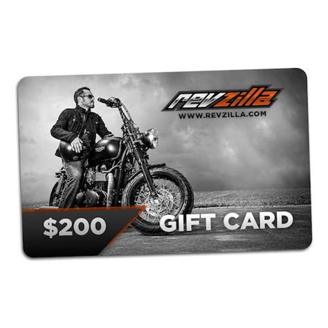 gift cards for motorcycle enthusiasts revzilla - Revzilla Gift Card