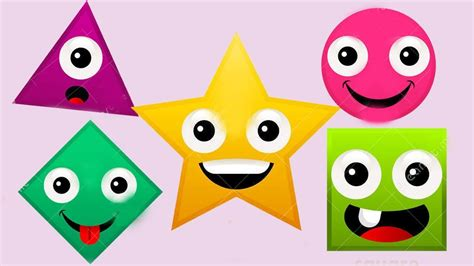 Learn Shapes   Teach Babies & Toddlers Shapes in English