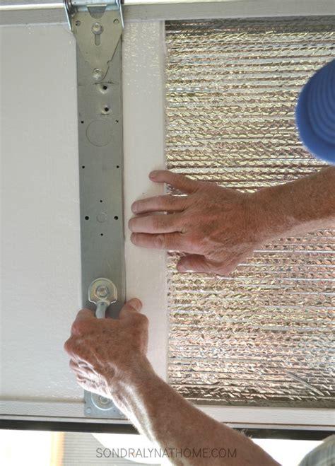 foam garage doors how to insulate garage doors and why you should