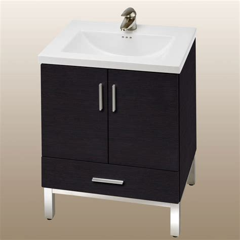 Bathroom Vanity With Bottom Drawer Bathroom Vanities Daytona 24 Vanity 2 Doors 1 Bottom Drawer And Polished Or Satin Hardware