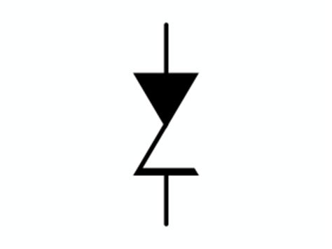 symbol of zener diode circuit symbol for zener diode clipart best