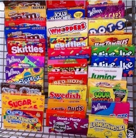 7 Of My Favorite Candybars by Theater Theatres And Theater On