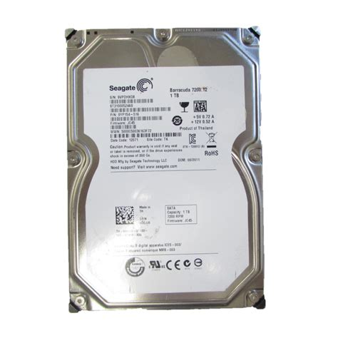 Seagate 1tb 7200 12 seagate barracuda 7200 12 st31000524as 1tb sata 3 5 quot