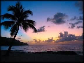 caribbean islands beaches sunset desktop backgrounds for