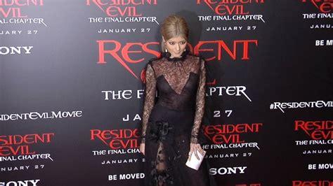 Carpet Stardust Premiere La by Rola Quot Resident Evil The Chapter Quot La Premiere