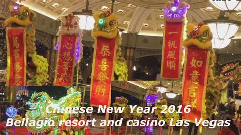 new year 2016 las vegas events lunar new year 2016 bellagio las vegas