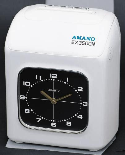 Mesin Absensi Amano Ex3500n mesin absensi amano ex3500n