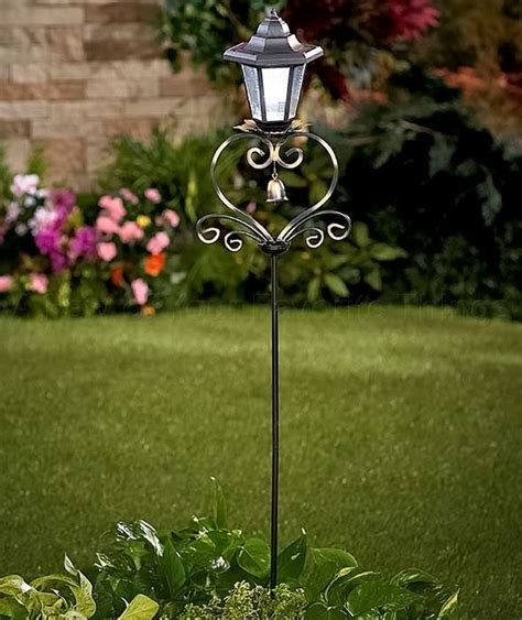 solar light decorative stake garden yard art lawn pathway