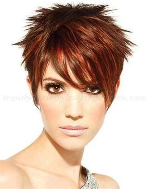 spikey hair styles for a black small round face short spikey hairstyles for women over 50 hair