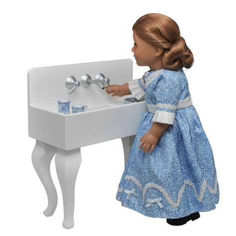 18 inch doll kitchen furniture vintage styled kitchen sink furniture for 18 quot dolls