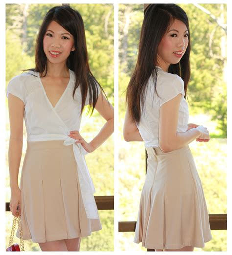 F21 Pleat Blouse all about fashion stuff diy inverted pleat skirt