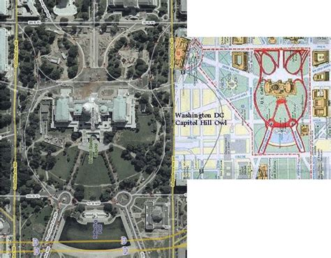 washington dc map owl there are save two churches only