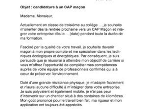 Exemple De Lettre De Motivation Franc Maçon Lettre De Motivation Macon Le Dif En Questions