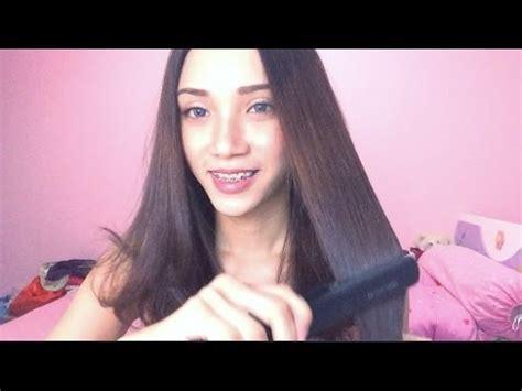 tutorial nyatok rambut cara merawat rambut yang bagus untuk til cute doovi
