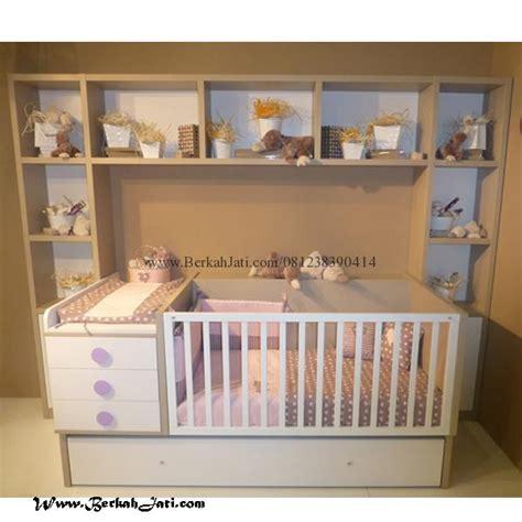 Tempat Tidur Bayi Yang Ada Kelambunya box bayi minimalis laci rak kotak berkah jati furniture berkah jati furniture