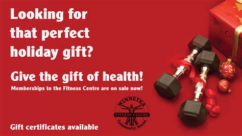 And Give The Gift Of by Give The Gift Of Health This Year Winnetka Community House