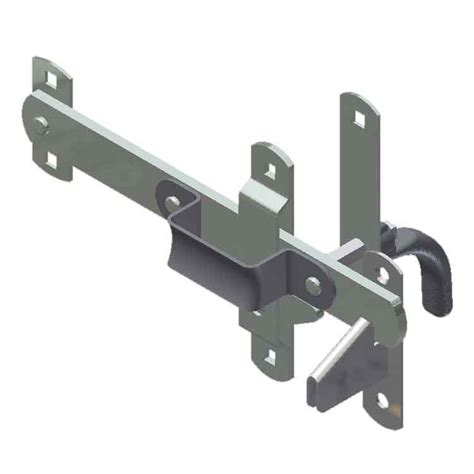 swing latch large swing door latch zinc plated
