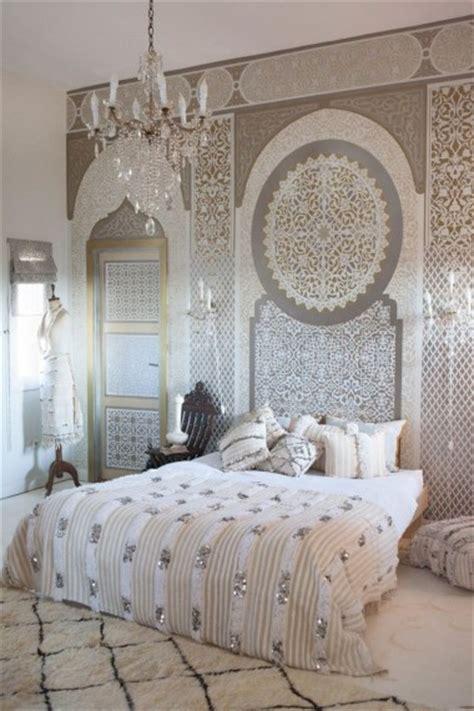 Handira D 233 Co D Inspiration Orientale Et Ethnique Moroccan Bedroom Decorating Ideas 2