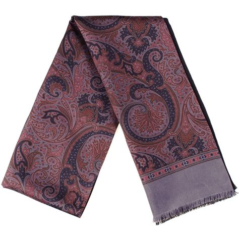 black co uk romana paisley silk scarf description delivery