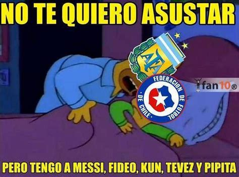 argentina vs los mejores memes argentina vs chile copa am 233 rica