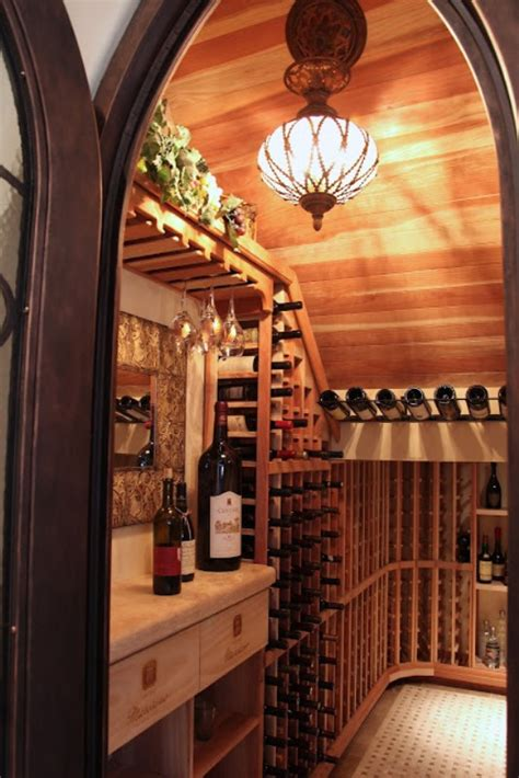 wine cellar under stairs design build home remodeling phoenix pictures before after