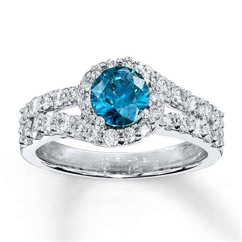 blue engagement rings hd ring diamantbilds