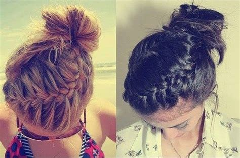 casual braided hairstyles for medium hair 20 easy updos for medium hair easy braided updo and