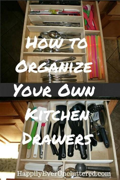 how to organize kitchen drawers kitchen organization hacks