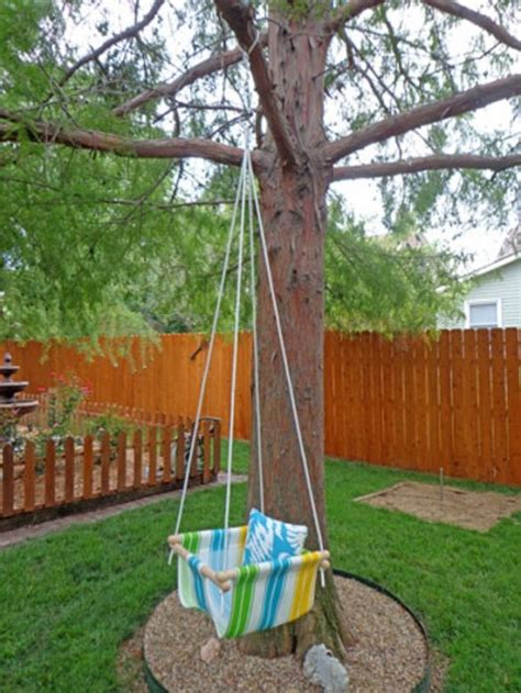 baby tree swings diy tree swing for a baby kidsomania