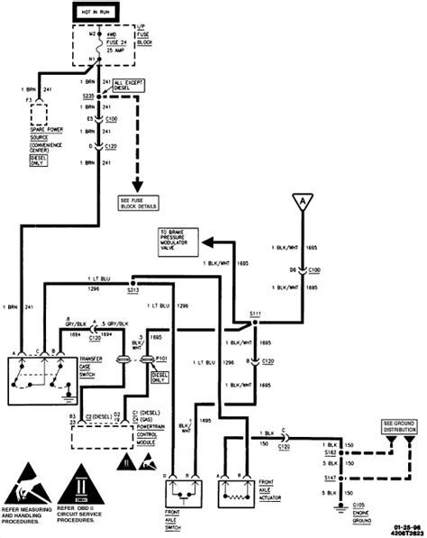 engine wiring chevy actuator k1500 4wd wiring diagram