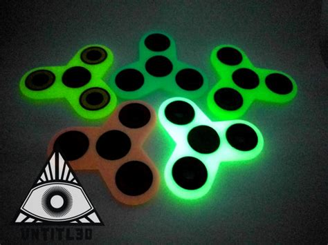 Fidget Spinner Spinner Glow In The Fidget Spin Promo edc glow in the fidget spinner tri colors