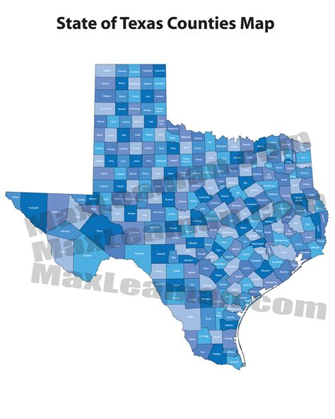 texas postal code map texas counties map