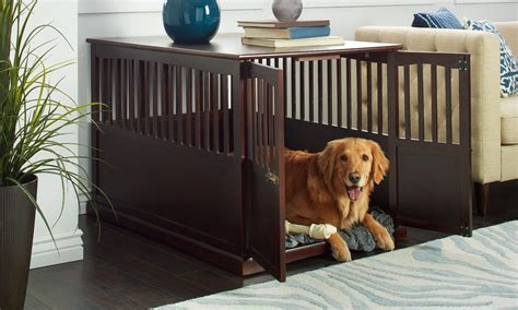 house break a dog how to train your dog to sleep in a dog kennel overstock com