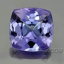Sapphire 656 Cts tanzanite 32 656 cushion modified brilliant cut 1 96 cts gemfix