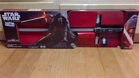 light saber toys r us toys r us exclusive kylo ren ultimate fx lightsaber review