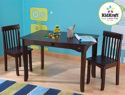 kidkraft farmhouse table and chair set pecan kidkraft farmhouse table and chair set pecan best table